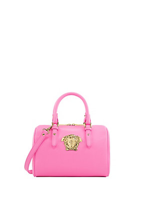 Versace Women Medusa Palazzo leather satchel