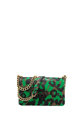Versace Women Camoupard Print Cross-Body Bag
