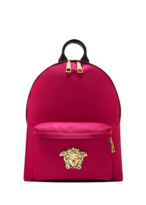 Versace Women Nylon Palazzo Backpack