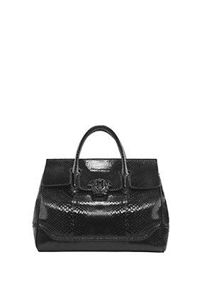 Versace Women Palazzo Empire Python Bag