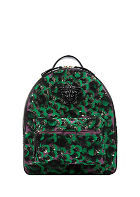 Versace Women Multicolor Wild Orchid Backpack