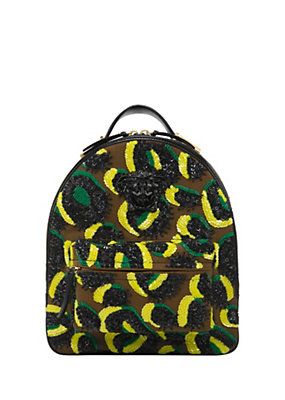 Versace Women Multicolor Sunburn Backpack