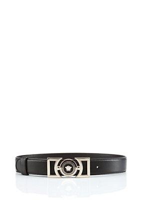 Versace Women Vanitas Leather Belt