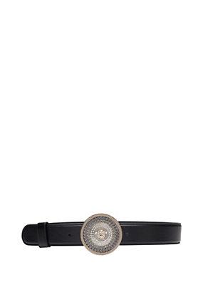 Versace Women Chain Swarvoski Detail Belt