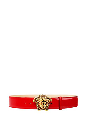 Versace Men Palazzo Patent Leather Belt
