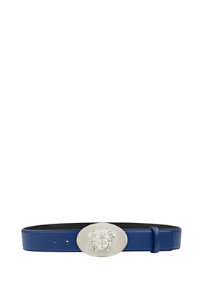 Versace Men Medusa Head Buckle Belt