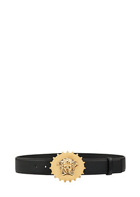 Versace Men Calf leather Medusa belt