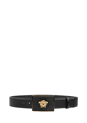 Versace Men Medusa buckled leather belt