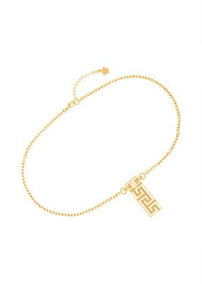 Versace Men #Greek Bar Pendant Necklace