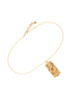 Versace Men Greca & Medusa pendant necklace