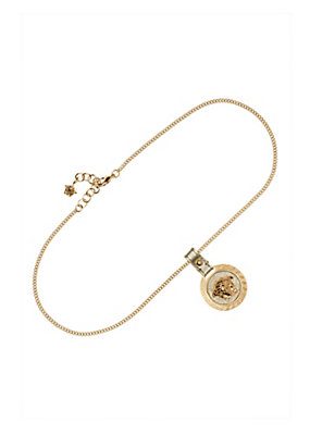 Versace Women Raised Medusa Head pendant necklace