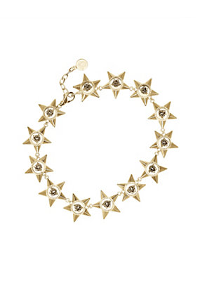 Versace Women Stars Link Necklace