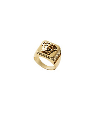 Versace Men Men Gold Medusa Ring