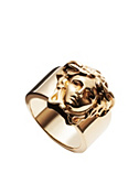 Versace Men Medusa Head Gold Ring