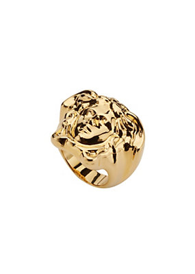 Versace Men Medusa Signet Ring
