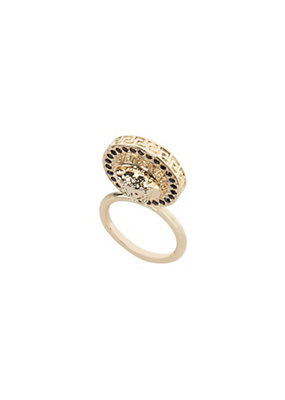 Versace Women Upright Medusa Ring