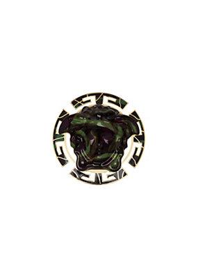 Versace Women Medusa Camouflage Brooch
