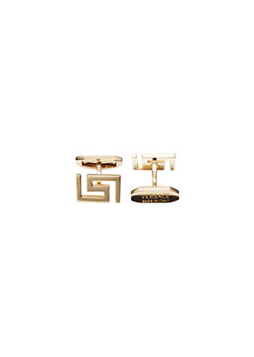 Versace Men Greca Cuff Links