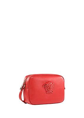 Versace Women Palazzo Shoulder Bag In Nappa