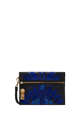 Versace Women Clutch Signature Diamond Reflection