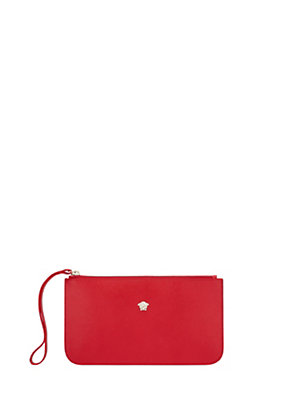 Versace Women Palazzo Calf Leather Pouch