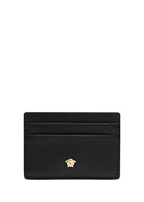 Versace Uomo Porta carte in pelle testurizzata