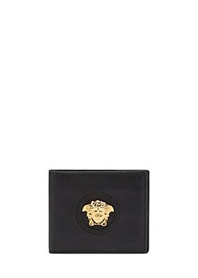 Versace Men Men Palazzo calf leather wallet