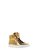 Versace Women Palazzo High-Top Sneakers
