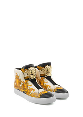 Versace Donna Sneakers Palazzo alte stampa Tigris