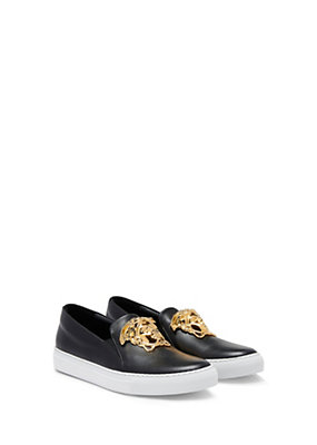 Versace Women Palazzo Slide-On Sneakers
