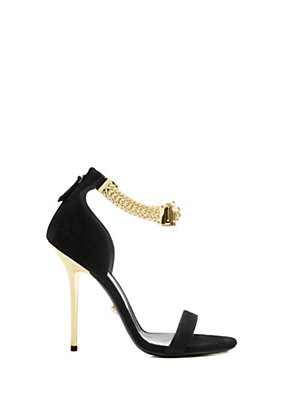 Versace Women Signature Ankle Strap Sandals