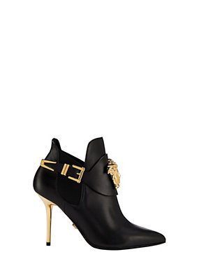Versace Women Palazzo High Heel Booties