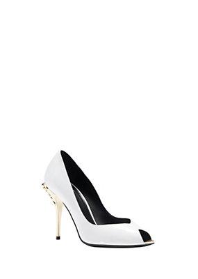 Versace Women Palaazo Peep Toe Heel