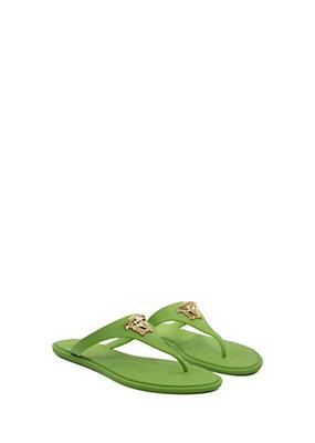 Versace Women Medusa Palazzo Thong Sandals