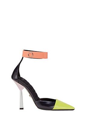 Versace Donna Sandali con colori a contrasto