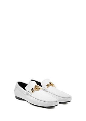 Versace Men Men Deer Skin Print Signature Shoe