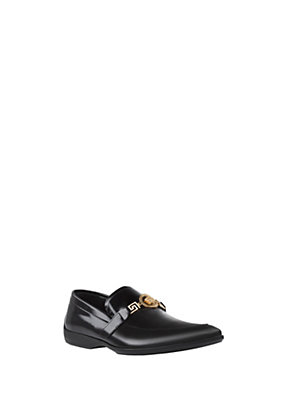 Versace Uomo Mocassino in Vernice Signature