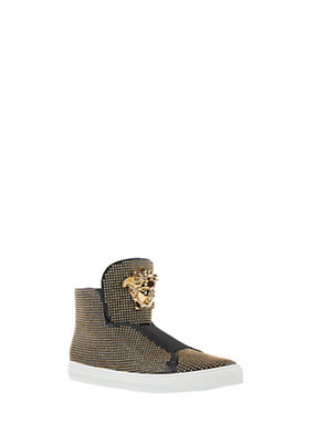 Versace Studded Palazzo Sneakers