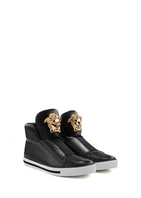 Versace Uomo Sneakers alte Palazzo senza lacci