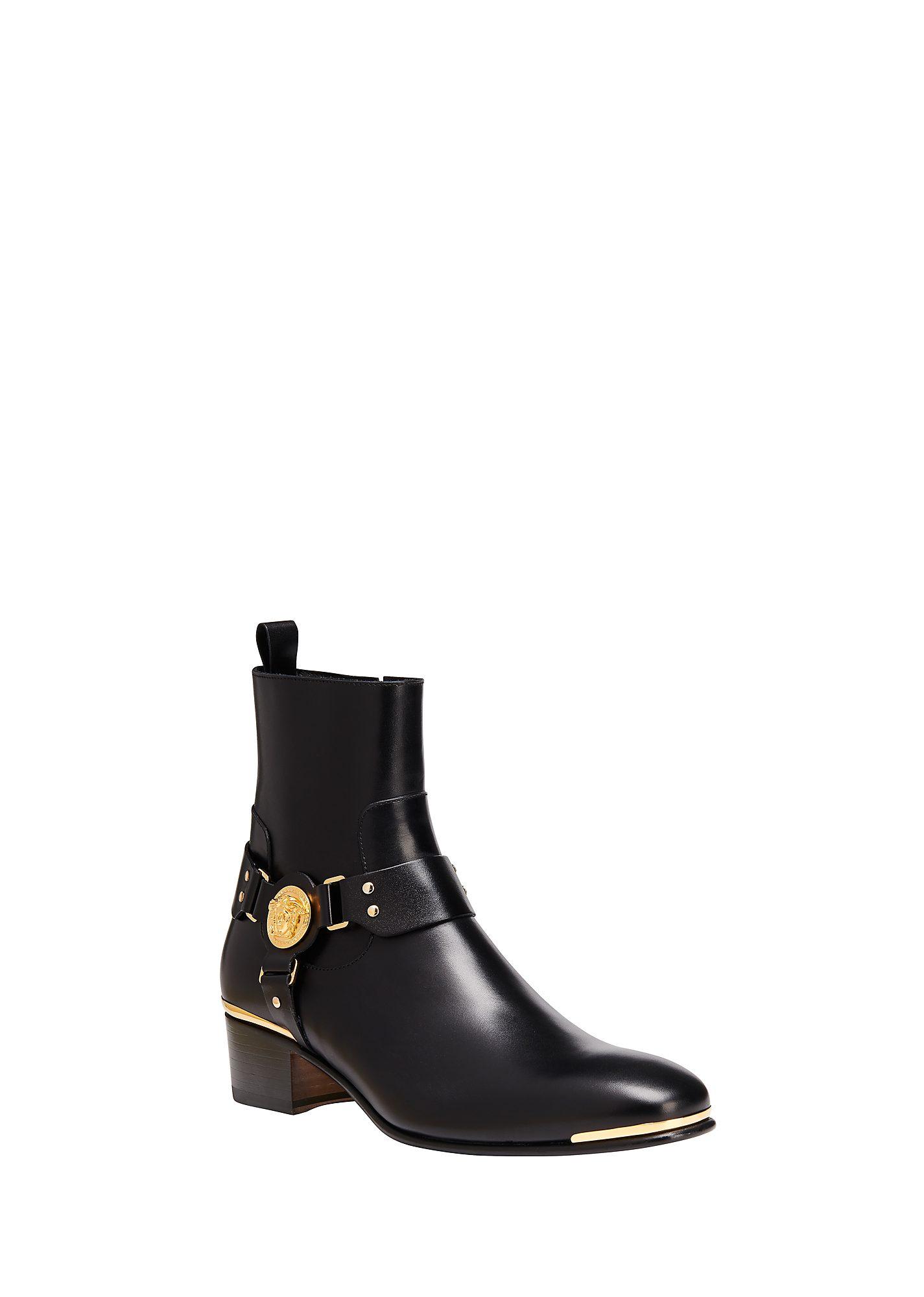 the trueself s versace boots