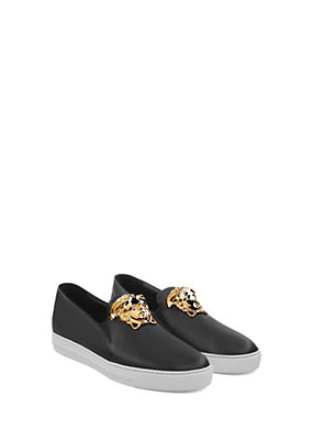 Versace Uomo Sneakers Palazzo in pelle