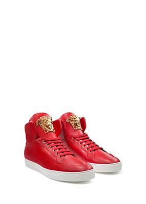 Versace Uomo Sneaker alte Palazzo con lacci