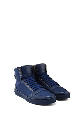 Versace Uomo Sneakers in tela e pelle con Medusa