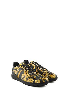 Versace Uomo Sneaker Barocco in pelle stampata