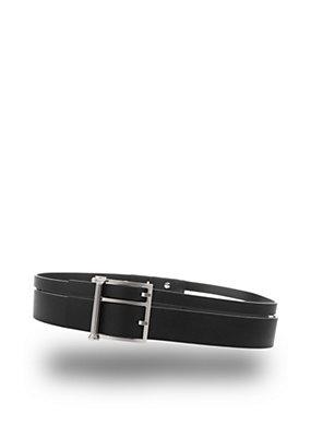 Versus Versace Women Dual buckle leather belt