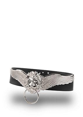 Versus Versace Women Lion Head winged belt