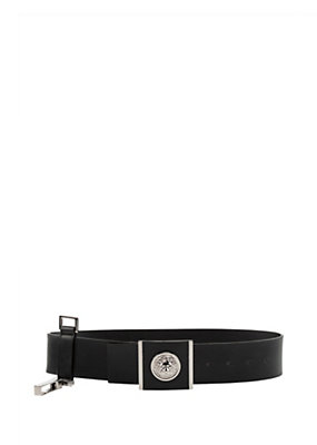 Versus Versace Women Leather belt with Lion Head buckle