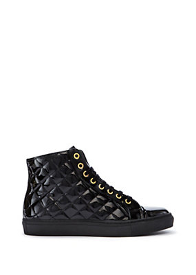 Versus Versace Women M.I.A. PANTENT LEATHER SNEAKERS