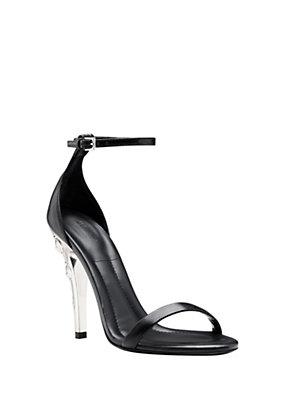 Versus Versace Women Vitello lion heel sandal