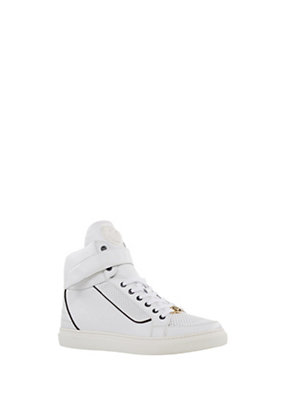 Versus Versace Men LION HEAD LEATHER HI-TOPS